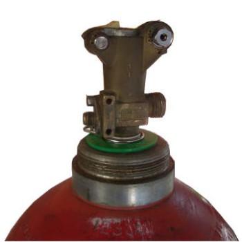 烟烙烬气体钢瓶瓶阀 宏理气体 氧气 二氧化碳 气体 笑气 氮气 液态氮图片